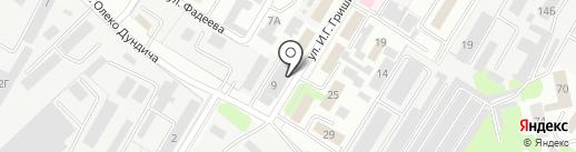 VIP-сауна на карте Липецка