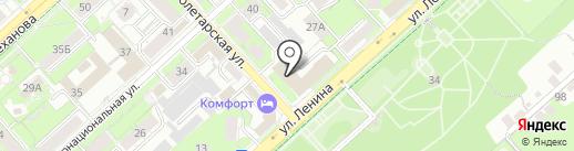 Липецкий областной краеведческий музей на карте Липецка