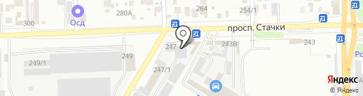 УМЦ Добрый мир-Юг на карте Ростова-на-Дону