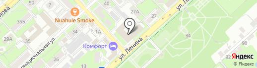Государственный архив новейшей истории Липецкой области на карте Липецка