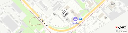 Мебель Партнер на карте Липецка