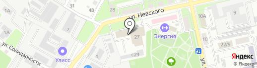 Липецктехмонтажналадка на карте Липецка