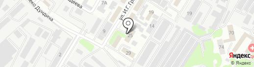 Уголовно-исполнительная инспекция по Правобережному округу на карте Липецка