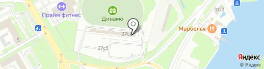 МРЭО, Межрайонный регистрационно-экзаменационный отдел на карте Липецка