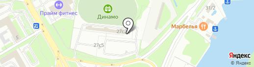 Межрайонный регистрационно-экзаменационный отдел на карте Липецка