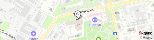 Липецкий Банный Комплекс на карте Липецка
