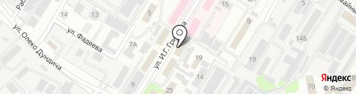 Липецкспецфундаменттяжстрой на карте Липецка