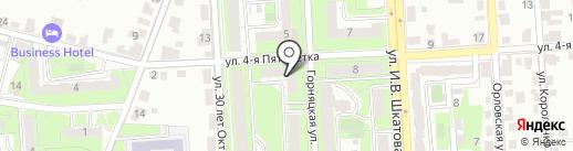 Пивная лига на карте Липецка