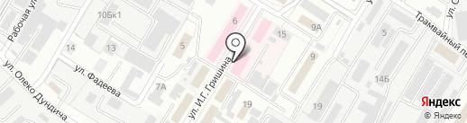 Липецкое областное бюро судебной медицинской экспертизы на карте Липецка