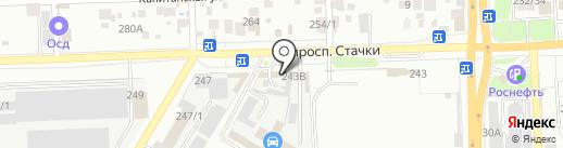 ЗИС на карте Ростова-на-Дону