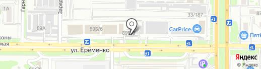 Автомойка самообслуживания на карте Ростова-на-Дону
