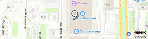 Cheeseberry на карте Ростова-на-Дону