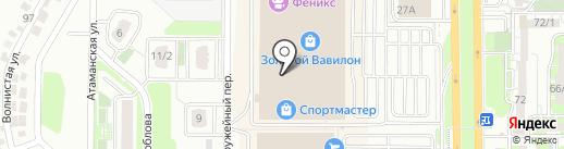Silver на карте Ростова-на-Дону