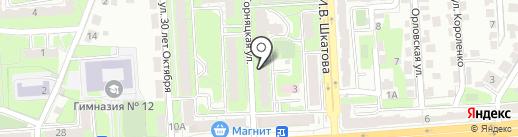 Психологический центр на карте Липецка