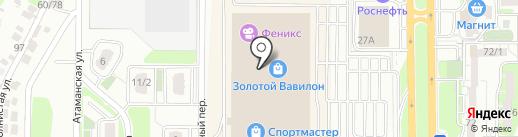 Lerros на карте Ростова-на-Дону