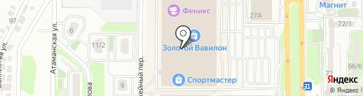 Золотая Лилия на карте Ростова-на-Дону