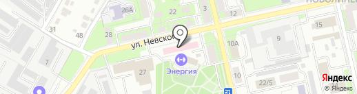 Городская поликлиника №9 на карте Липецка