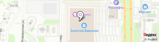 Хобби-Центр на карте Ростова-на-Дону