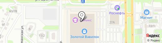 Фантазия на карте Ростова-на-Дону