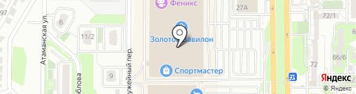 Kanzler на карте Ростова-на-Дону