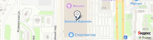 Дом.ru на карте Ростова-на-Дону