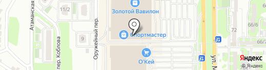 Soul & city на карте Ростова-на-Дону