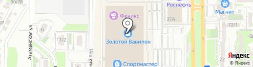 Русь елка на карте Ростова-на-Дону