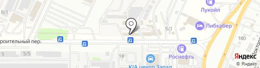 Лимузин на карте Ростова-на-Дону