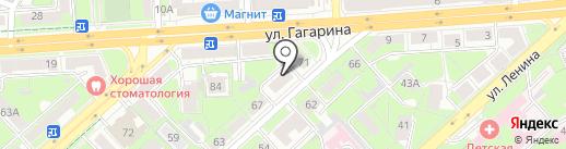 Деловой Интернет на карте Липецка