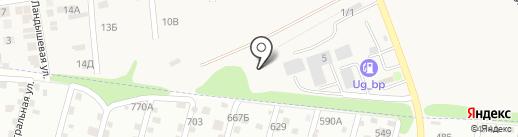 Металл Трейд на карте Ленинавана