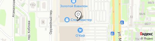 Familia на карте Ростова-на-Дону