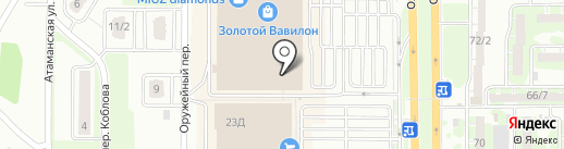 Organic на карте Ростова-на-Дону