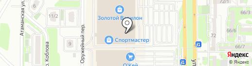 Магазин аксессуаров для мобильных телефонов на карте Ростова-на-Дону