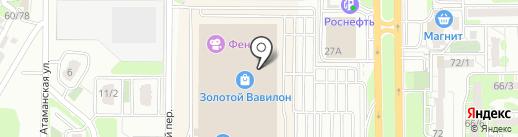Bubble waffle на карте Ростова-на-Дону