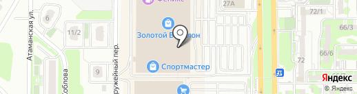 Peonia на карте Ростова-на-Дону