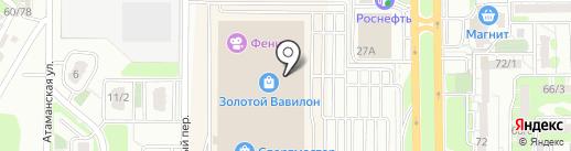 Apple-Room на карте Ростова-на-Дону