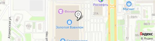 Top Secret на карте Ростова-на-Дону