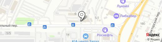 Станция техобслуживания автомобилей BMW на карте Ростова-на-Дону