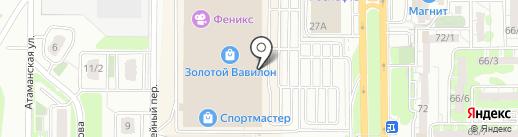 Рисование по номерам на карте Ростова-на-Дону