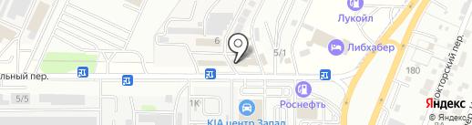 Чиполино на карте Ростова-на-Дону