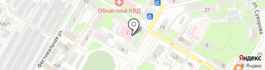 Диализный центр на карте Липецка
