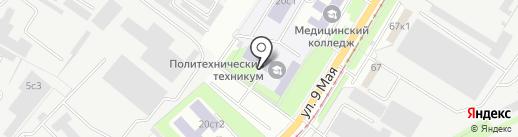 Многофункциональный центр прикладных квалификаций в области металлургии и машиностроения на карте Липецка