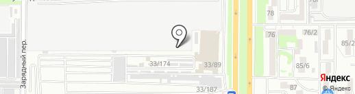 Магазин автоэмалей на карте Ростова-на-Дону