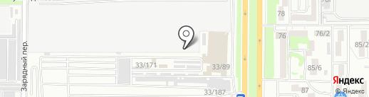 Магазин по продаже шумоизоляции и автовинила на карте Ростова-на-Дону