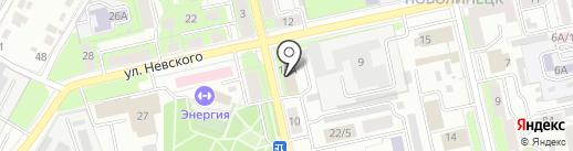 Зем Рем Строй Липецк на карте Липецка