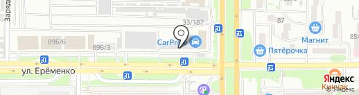Магазин №1 на карте Ростова-на-Дону