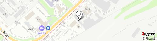Автосервис на карте Липецка