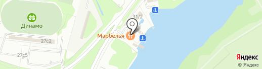 Марбелья на карте Липецка