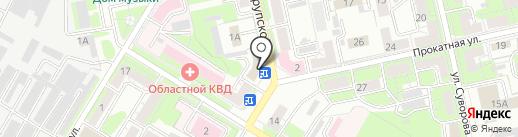 Информационно-технический центр на карте Липецка