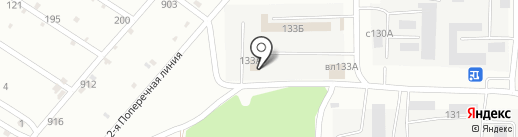 Банная усадьба на карте Липецка